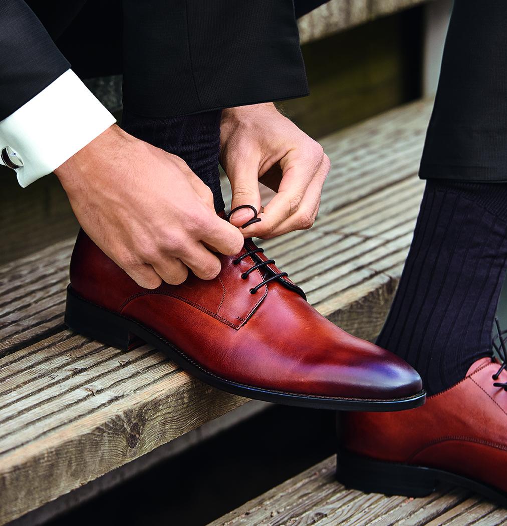 Wilvorst Schuhe Männer Mode Hochzeit Bräutigam Herren Accessoires braune Schuhe