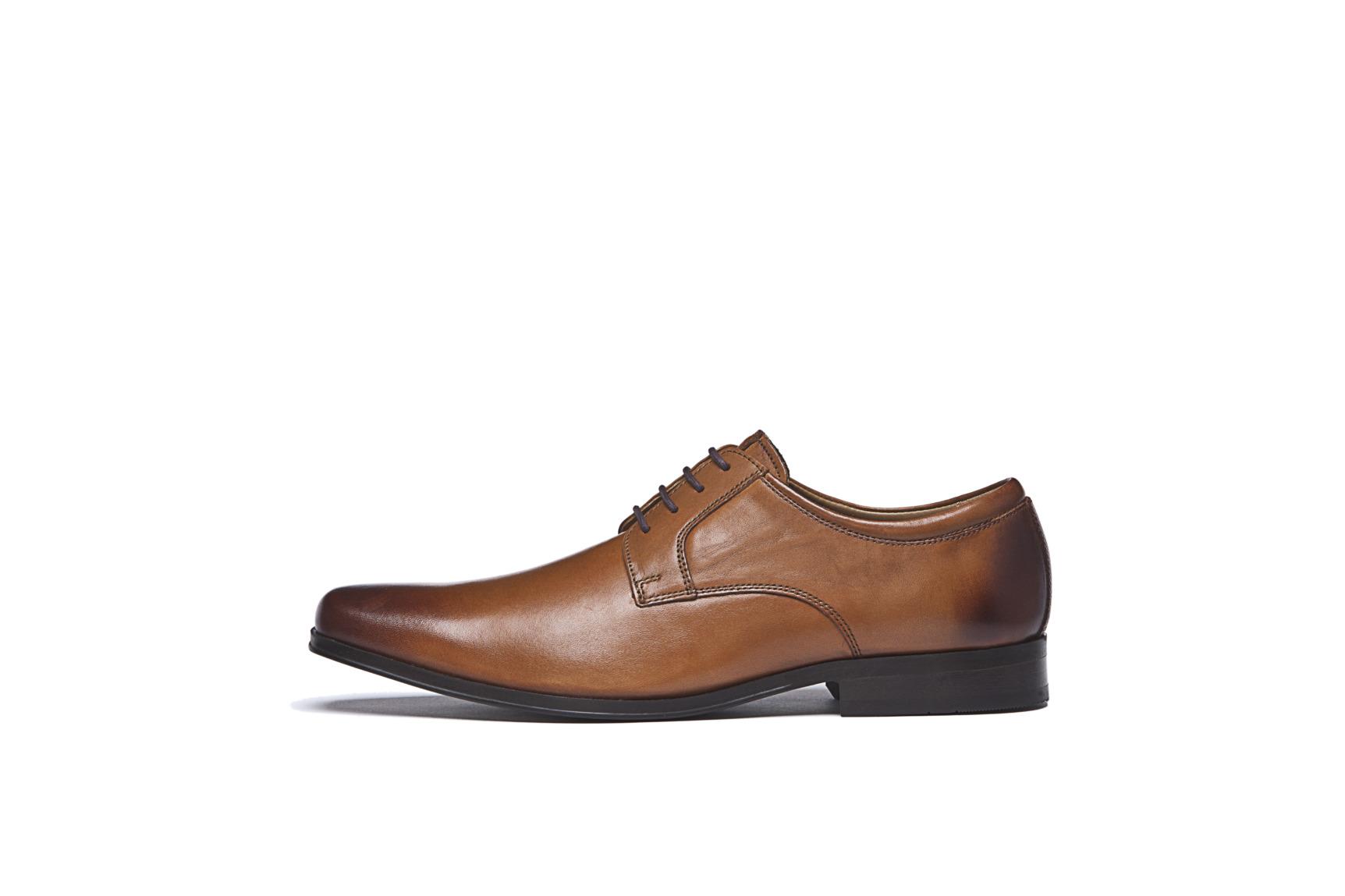 Modische Schuhe für den Bräutigam von Digel Modell SMART im vintage Look hellbraun bis cognac