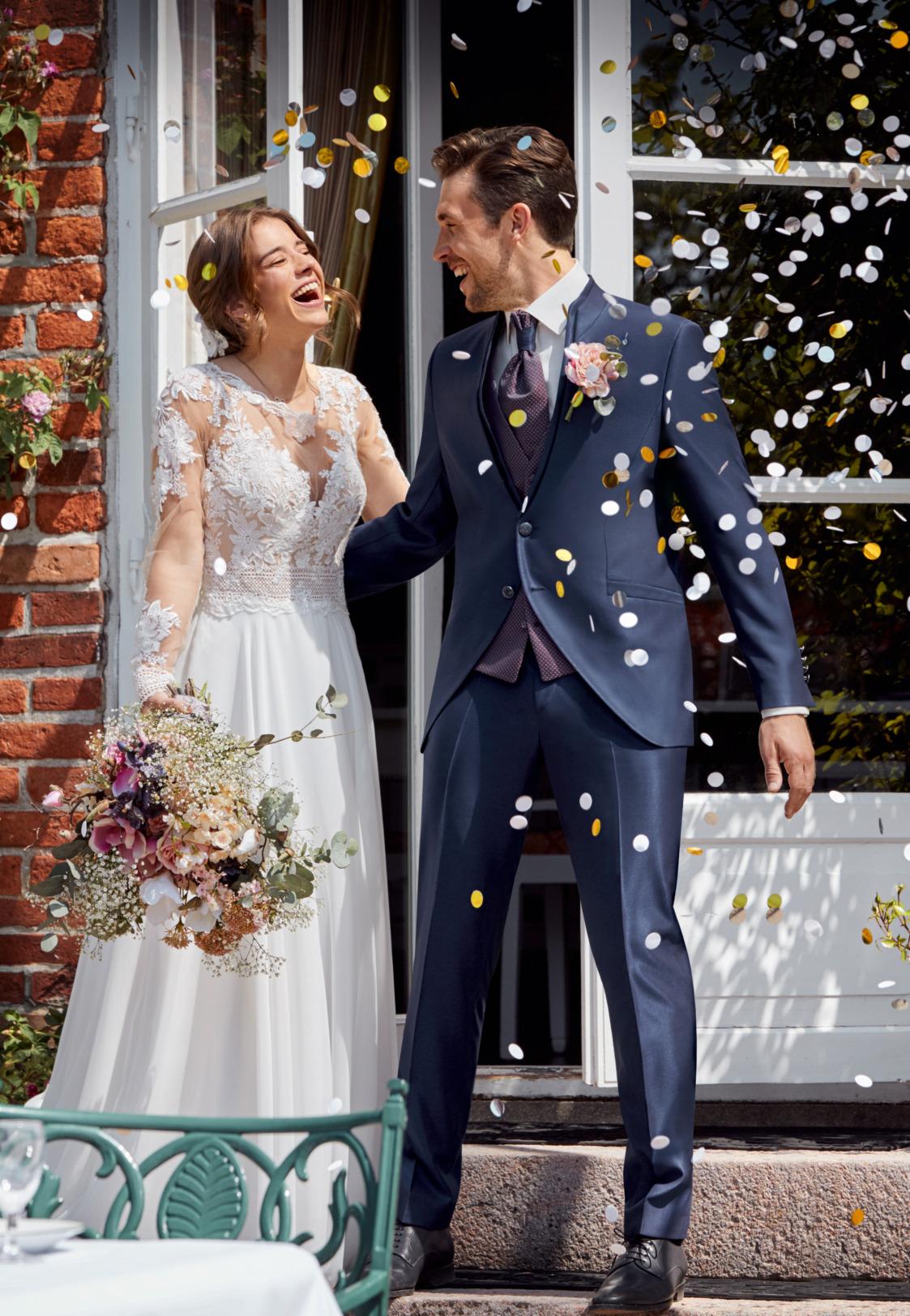 Wilvorst After Six Hochzeitsanzug Männer Mode Bräutigam klassische Form blau wil_0121_kam_as-look-1_1