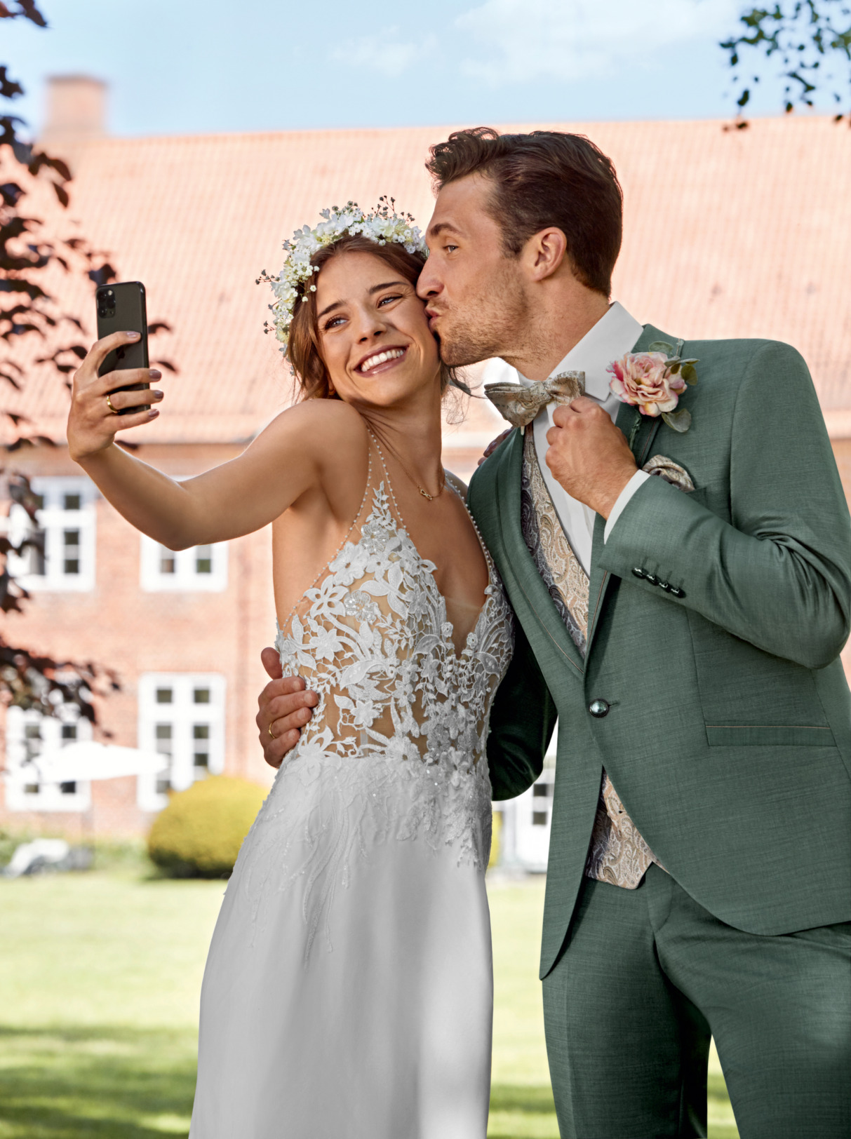 Wilvorst After Six Hochzeitsanzug Männer Mode Bräutigam klassische Form grün green wil_0121_kam_as-look4_1