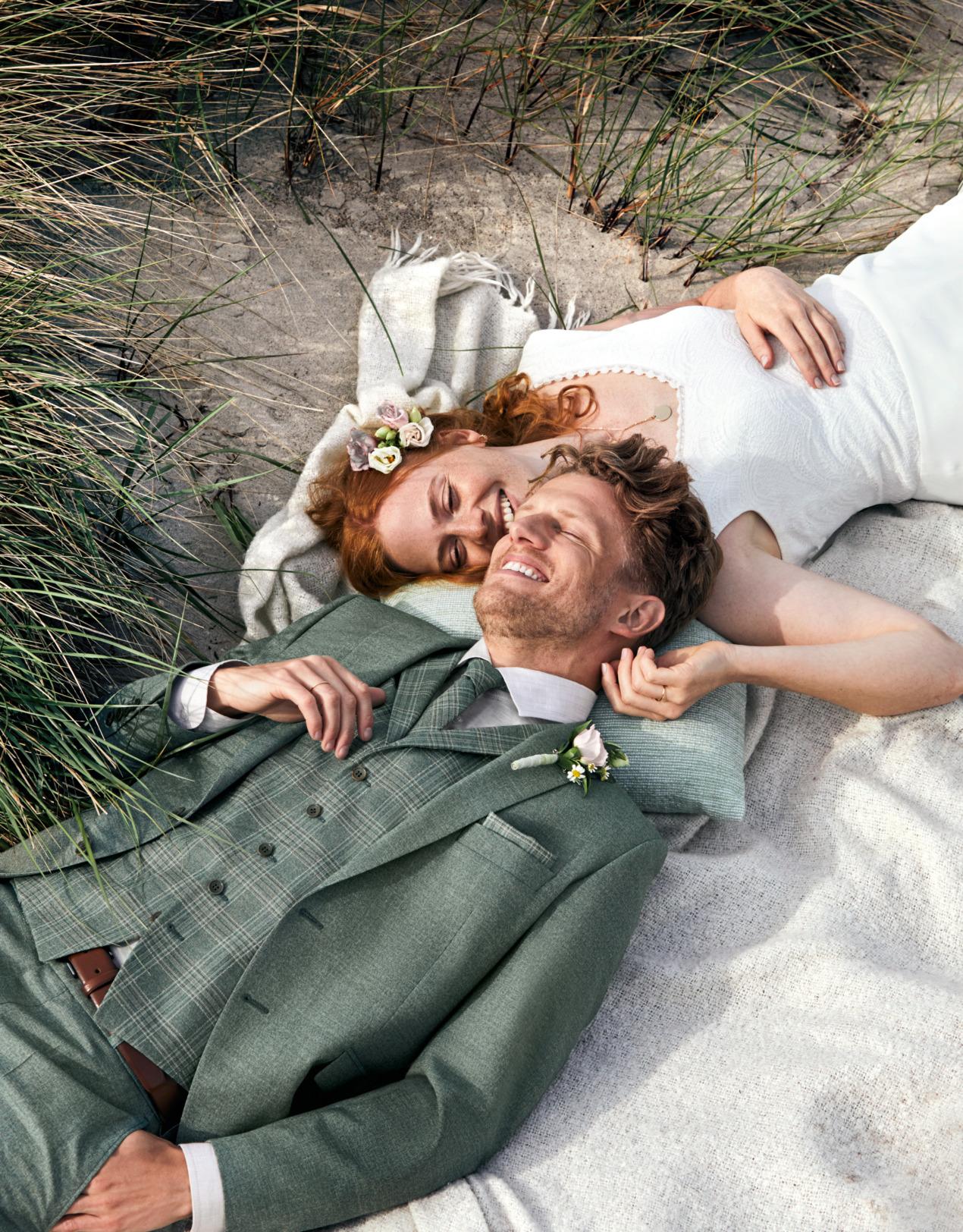 Wilvorst Green Wedding Hochzeitsanzug Männer Mode Bräutigam klassische Form vintage boho Stil grün wil_0121_kam_gw-Look1_1