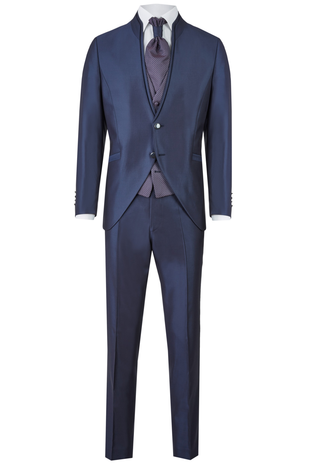 Wilvorst After Six Hochzeitsanzug Männer Mode Bräutigam klassische Form blau wil_0121_otf_as-look-1_1