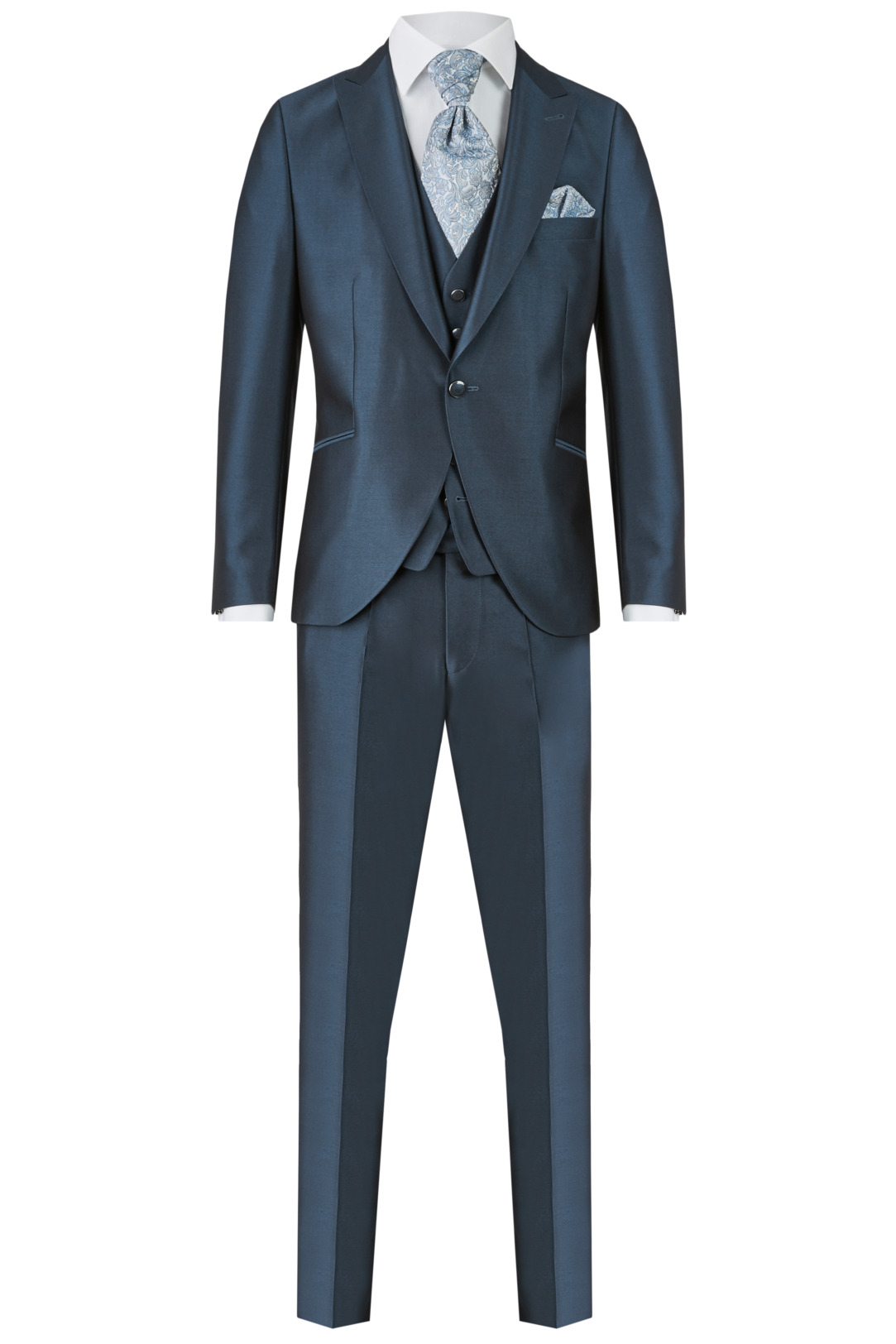 Wilvorst After Six Hochzeitsanzug Männer Mode Bräutigam klassische Form petrol grün wil_0121_otf_as-look-2_1