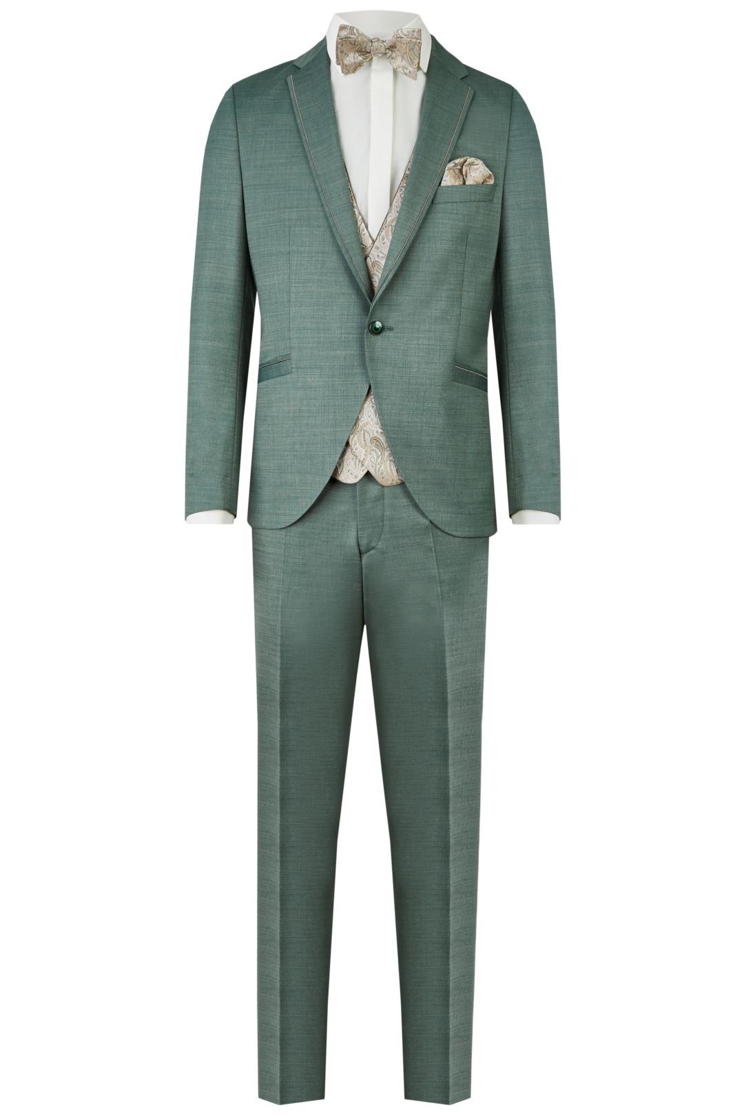 Wilvorst After Six Hochzeitsanzug Männer Mode Bräutigam klassische Form grün petrol wil_0121_otf_as-look-4_1