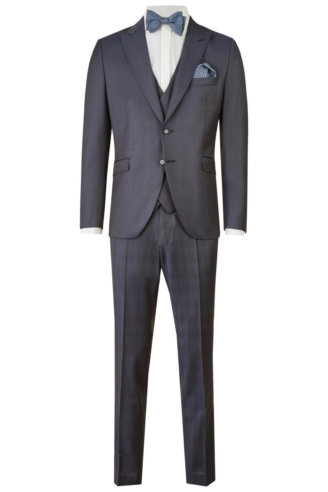 Wilvorst After Six Hochzeitsanzug Männer Mode Bräutigam klassische Form grau wil_0121_otf_as-look-6_1
