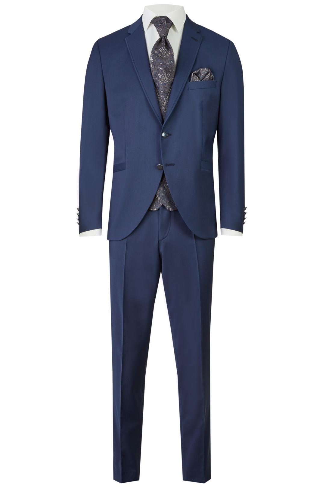 Wilvorst After Six Hochzeitsanzug Männer Mode Bräutigam klassische Form mittelblau wil_0121_otf_as-look-7_1