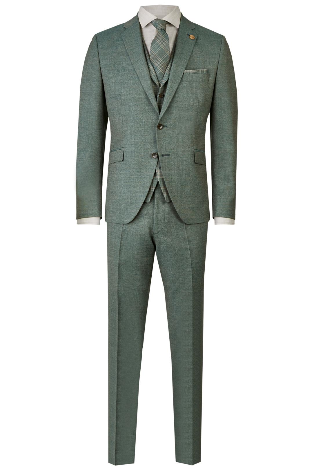 Wilvorst Green Wedding Hochzeitsanzug Männer Mode Bräutigam klassische Form vintage boho Stil grün wil_0121_otf_gw-look-1_1