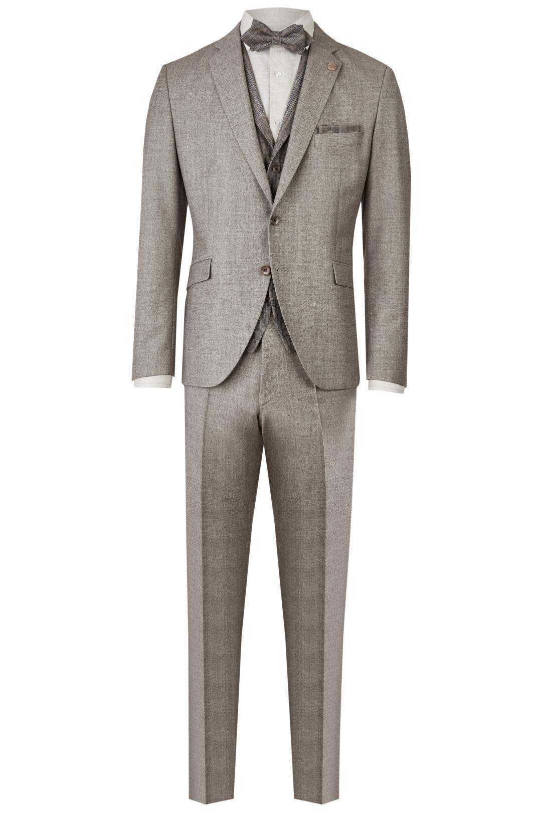 Wilvorst Green Wedding Hochzeitsanzug Männer Mode Bräutigam klassische Form vintage boho Stil hellgrau natur wil_0121_otf_gw-look-2_1
