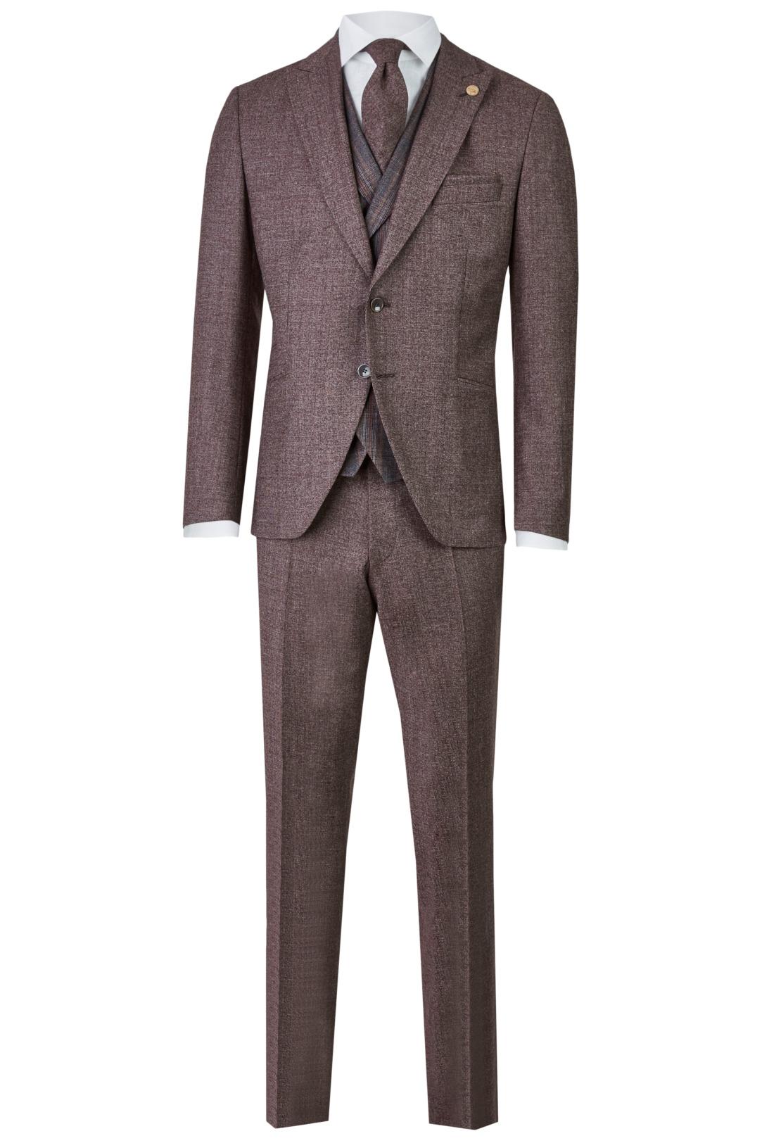Wilvorst Green Wedding Hochzeitsanzug Männer Mode Bräutigam klassische Form vintage boho Stil rot bordeaux wil_0121_otf_gw-look-3_1