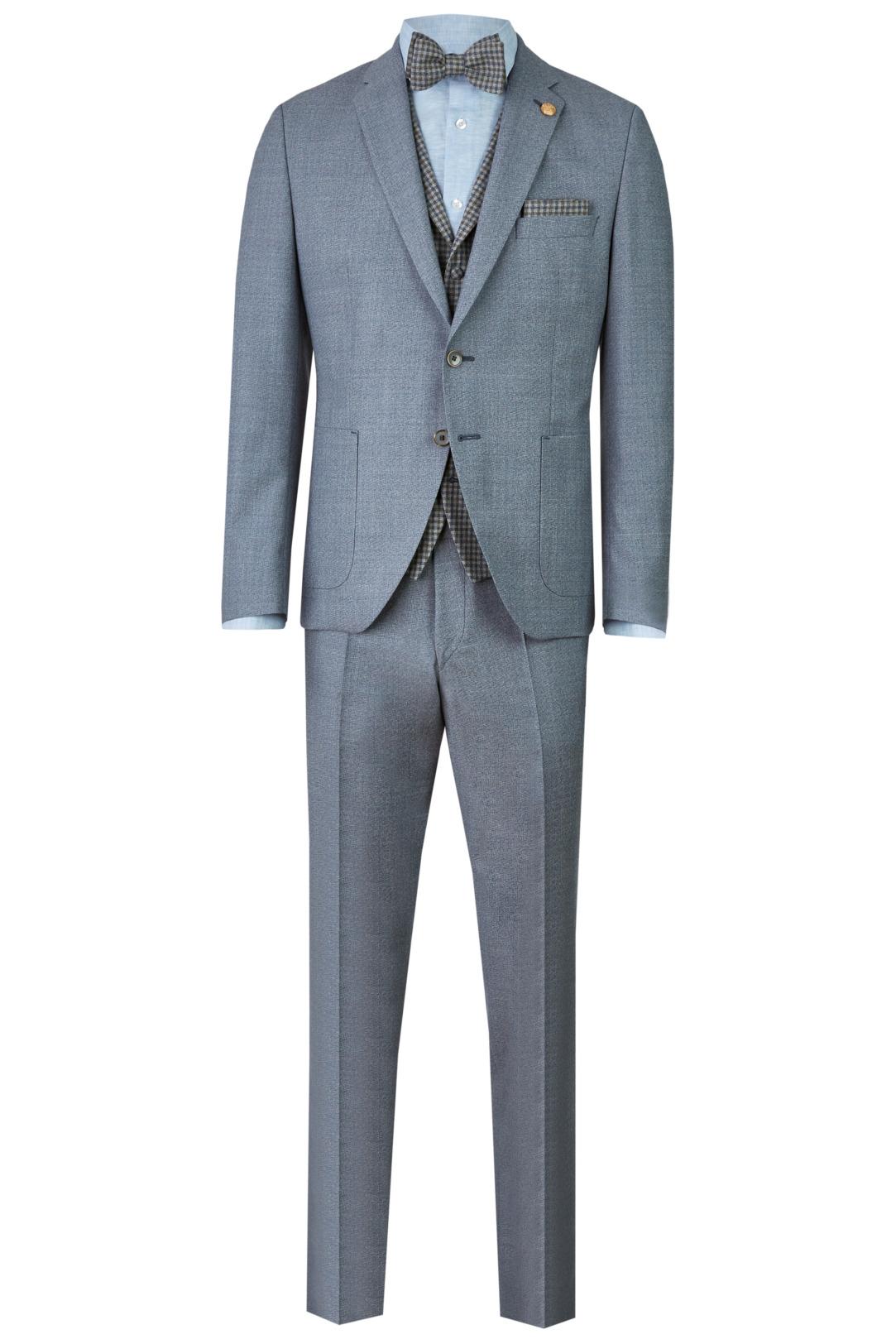 Wilvorst Green Wedding Hochzeitsanzug Männer Mode Bräutigam klassische Form vintage boho Stil hellblau blau wil_0121_otf_gw-look-4_1