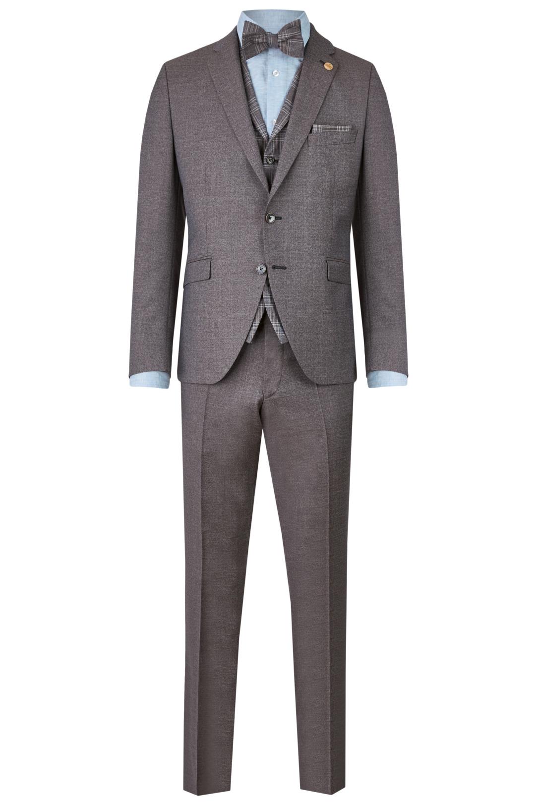 Wilvorst Green Wedding Hochzeitsanzug Männer Mode Bräutigam klassische Form vintage boho Stil rot braun wil_0121_otf_gw-look-5_1