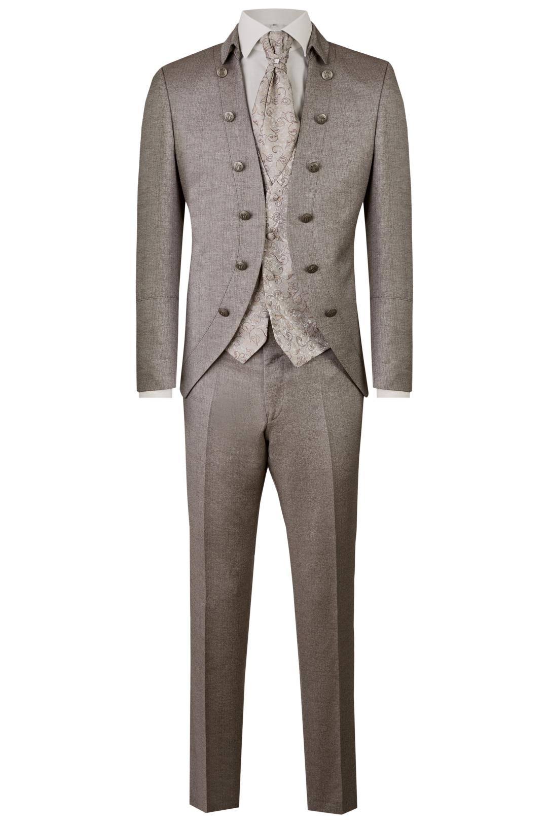 Wilvorst Tziacco Hochzeitsanzug Männer Mode Bräutigam extravagant braun wil_0121_otf_tz-look-5_1