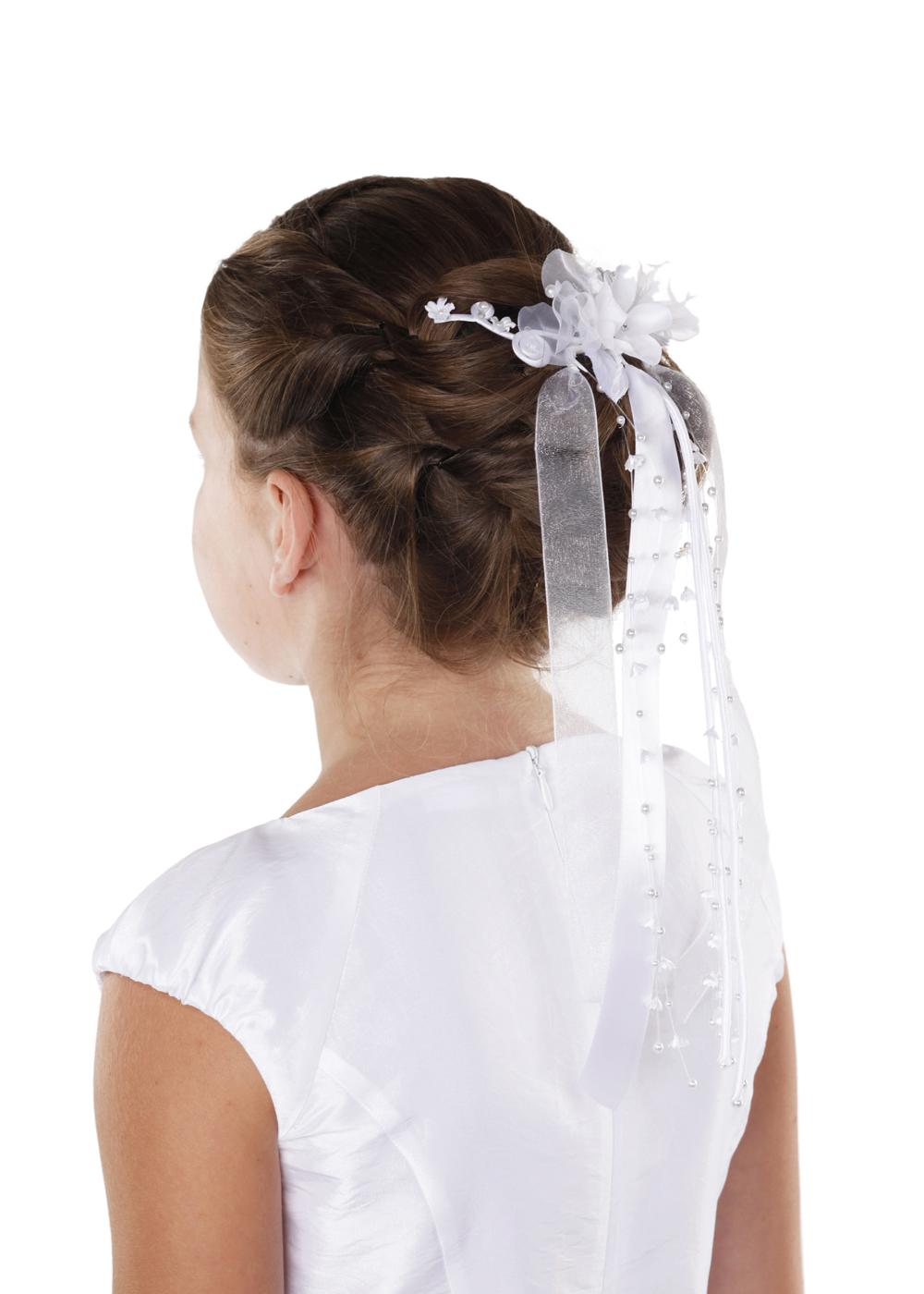 Kommunion Accessoires für Mädchen. Haarschmuck Modell  220247_mak_4c