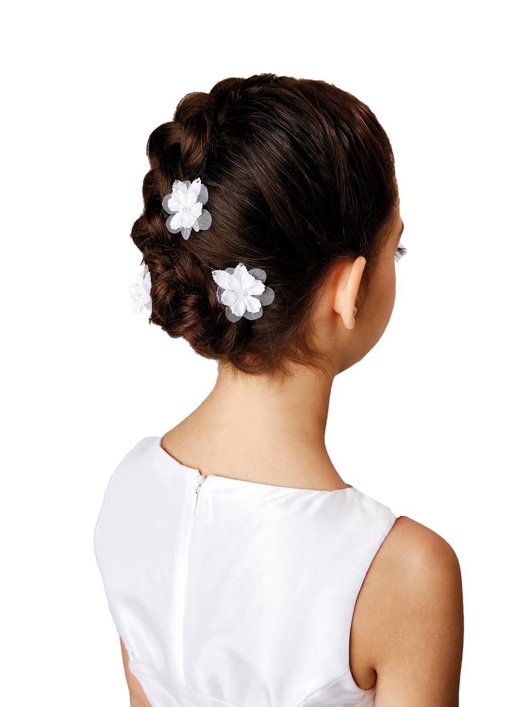 Kommunion Accessoires für Mädchen. Haarschmuck Modell 245506.