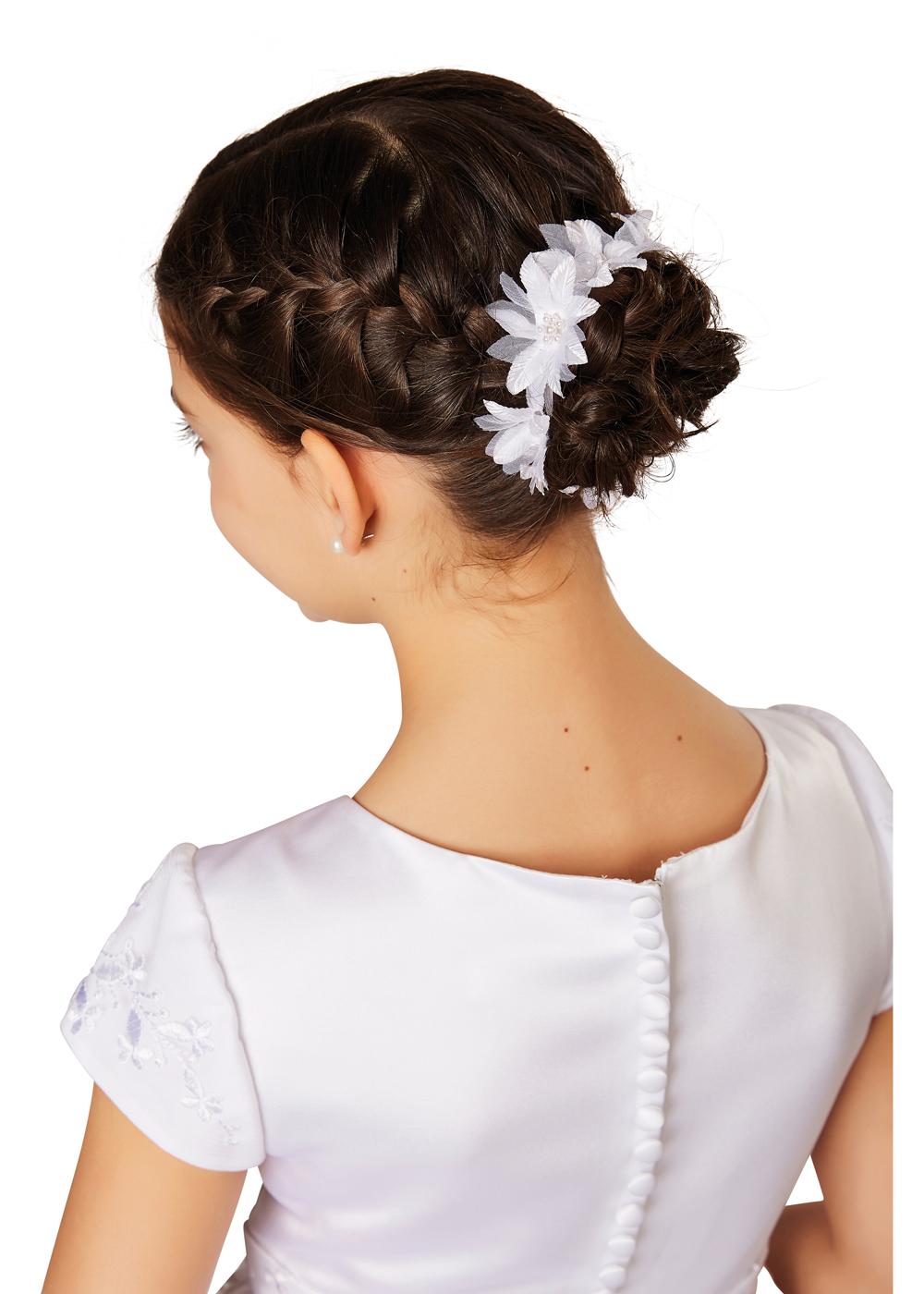 Kommunion Accessoires für Mädchen. Haarschmuck Modell 253225.