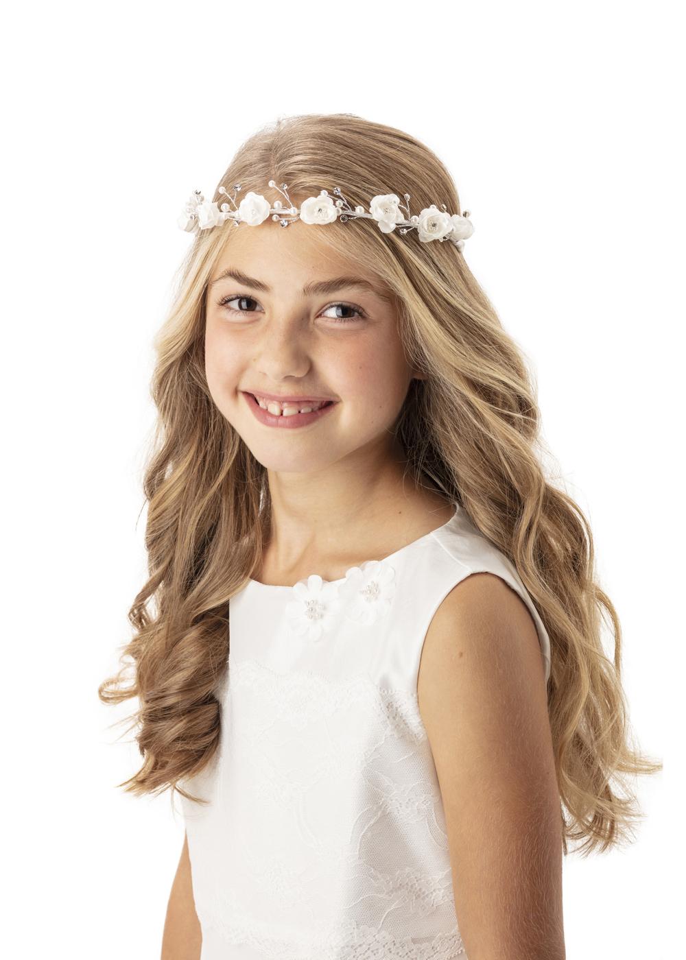 Süßes Stirnband - Kommunion Accessoires für Mädchen - Haarschmuck 256060 009 06